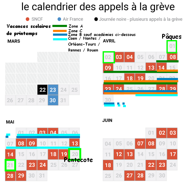 Calendrier Greves Air France.Bego 06 Blog Archive Pour Bien Preparer Ses Conges De