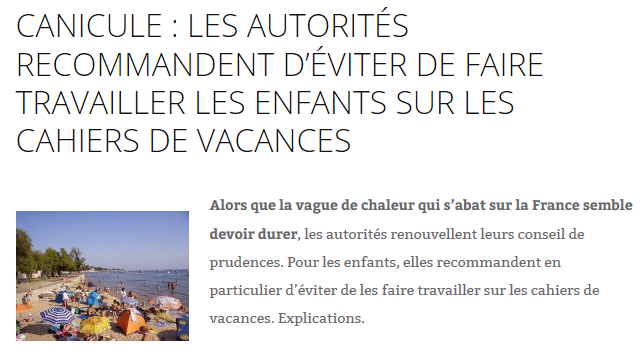 Canicule_Cahiers-vacances